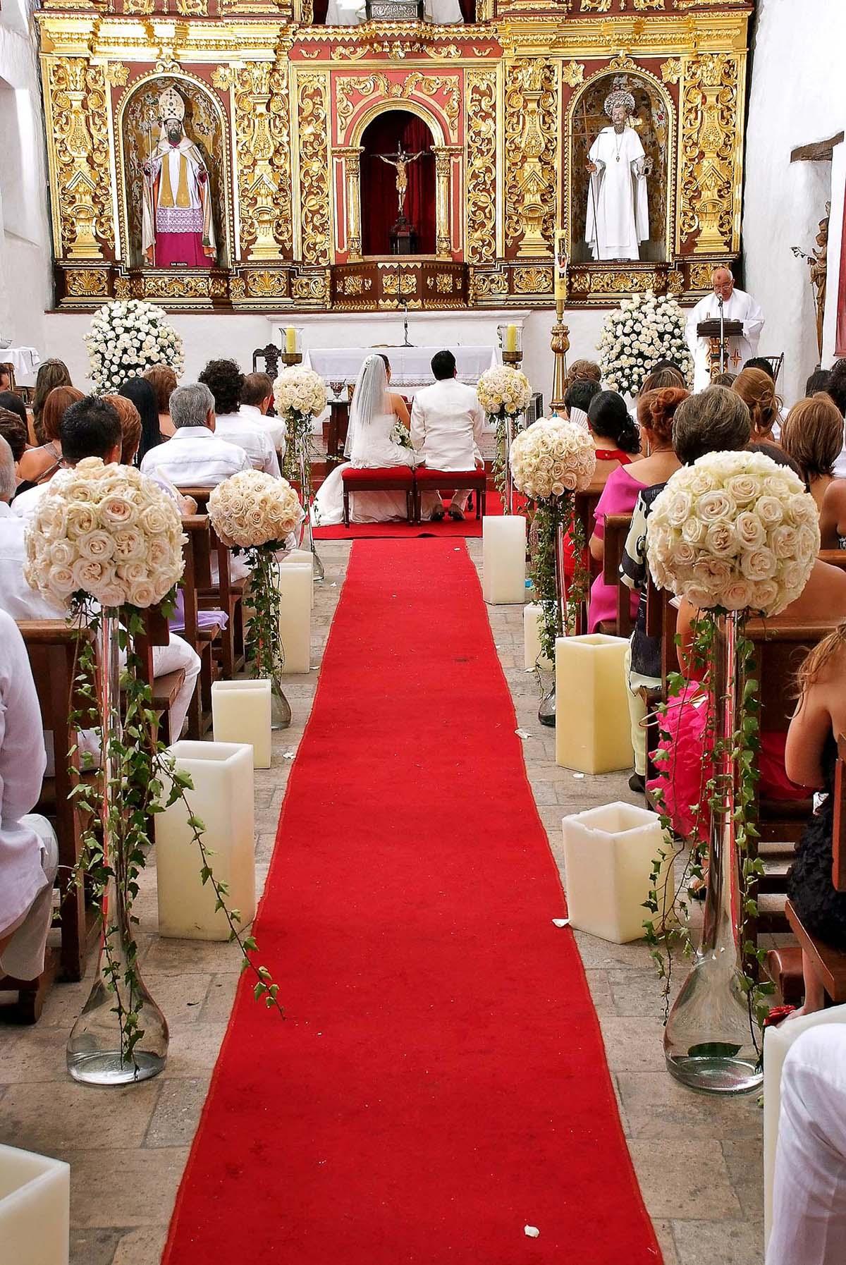 Arreglos para iglesia de bodas imagui for Boda decoracion