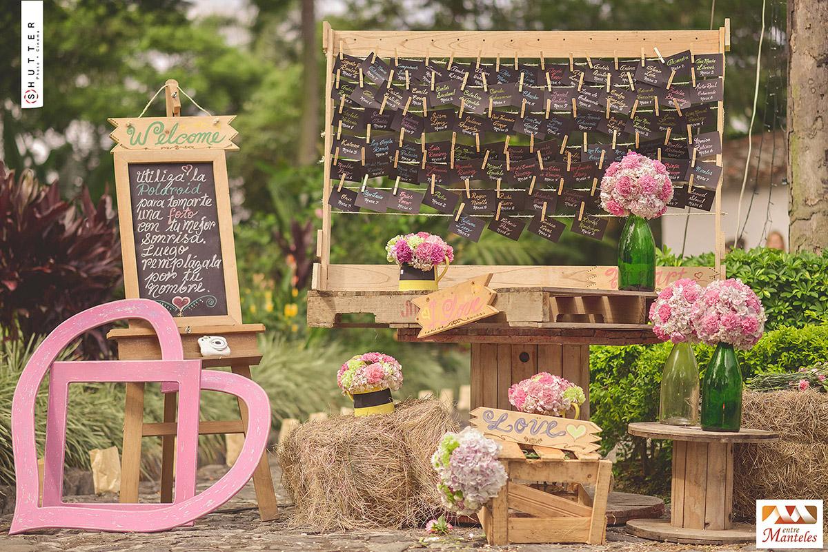Decoraci n boda campestre consejos matrimonio campestre for Decoracion rustica para bodas
