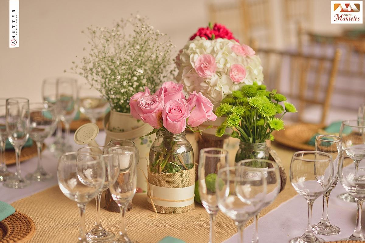 Organizacion de bodas en cali decoracion de bodas en cali for Centro de mesa boda campestre