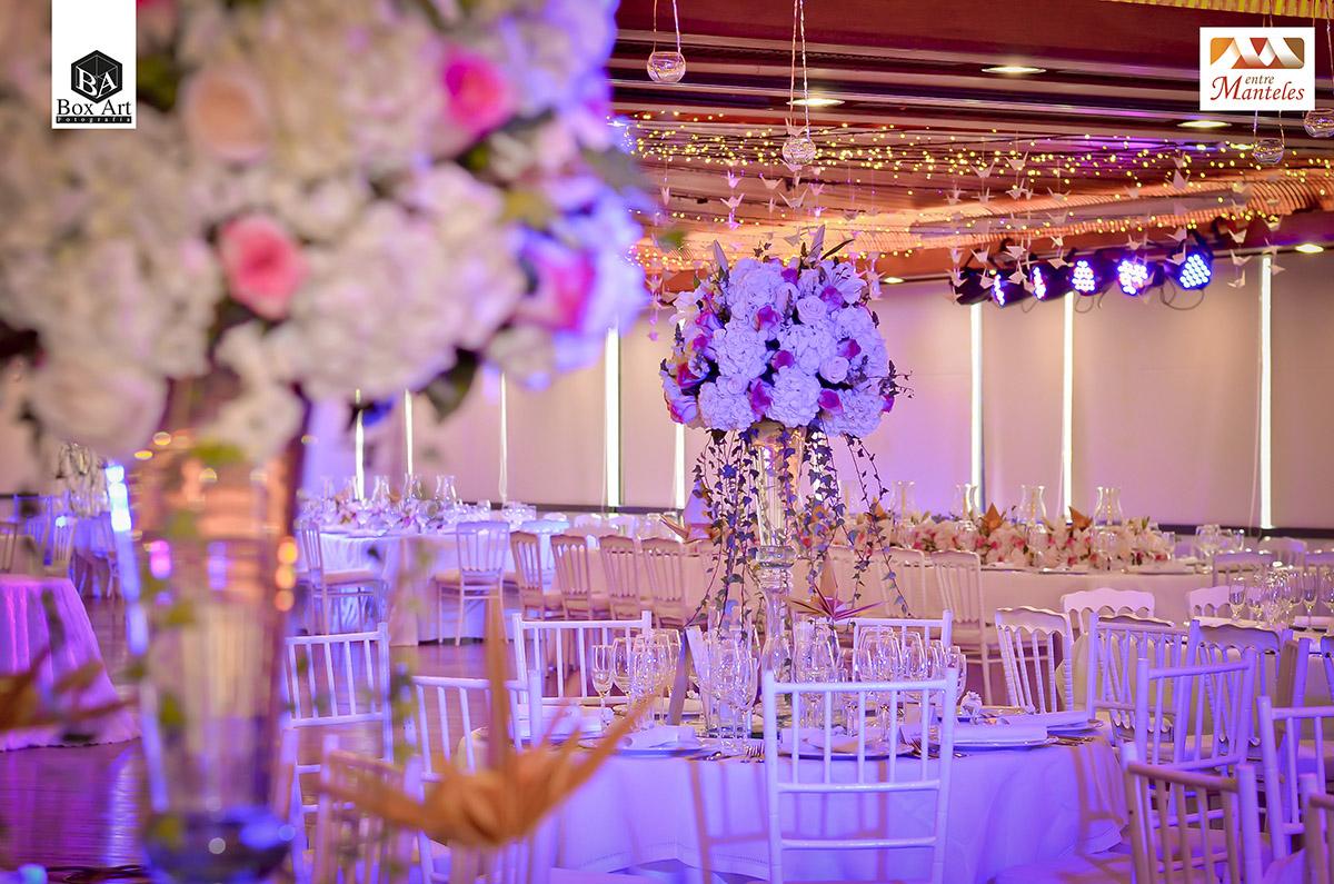 Galer a decoraci n de bodas lujo glamour en bodas de for Decoracion salon de bodas