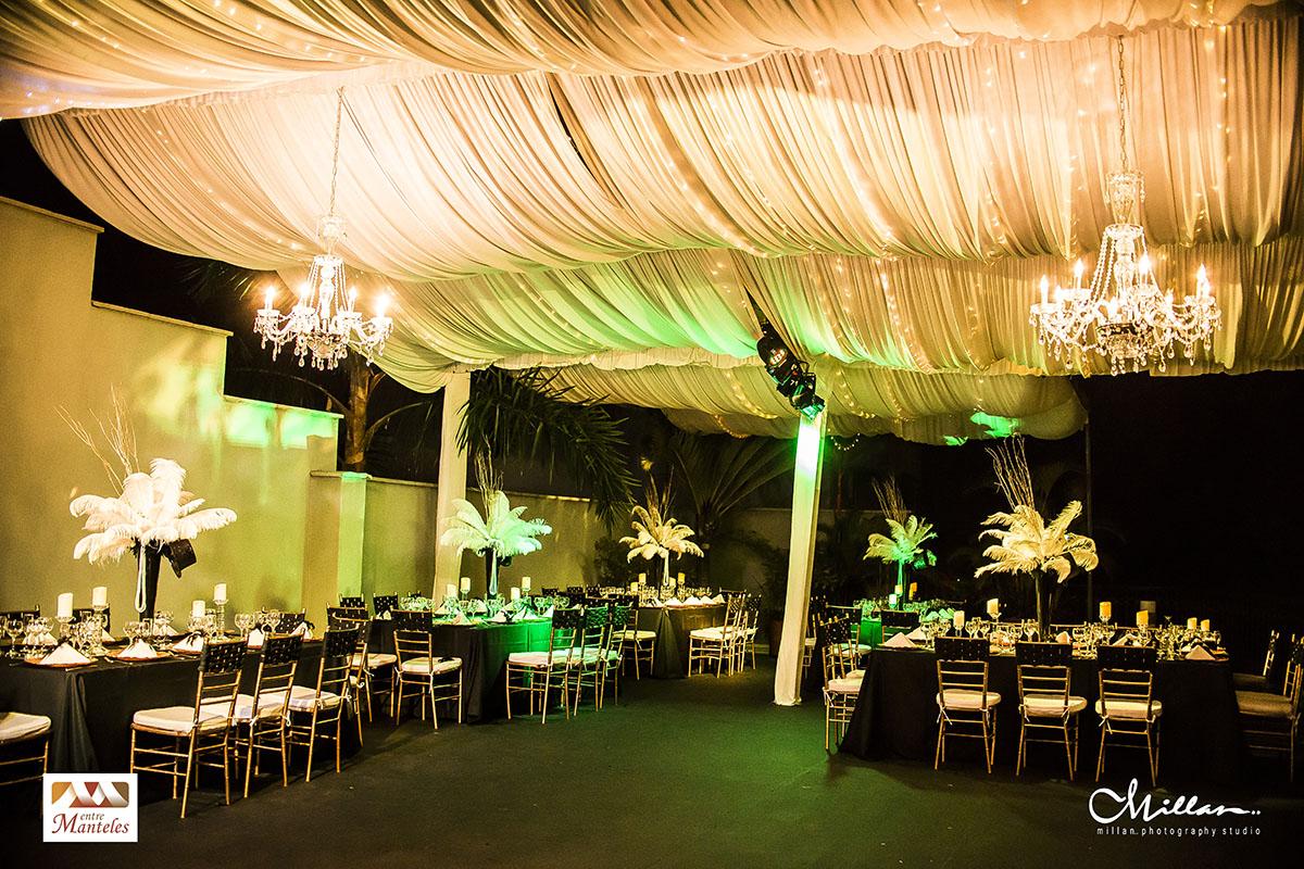 Cumplea os tem tica gran gatsby entremanteles bodas for Ambientacion para bodas