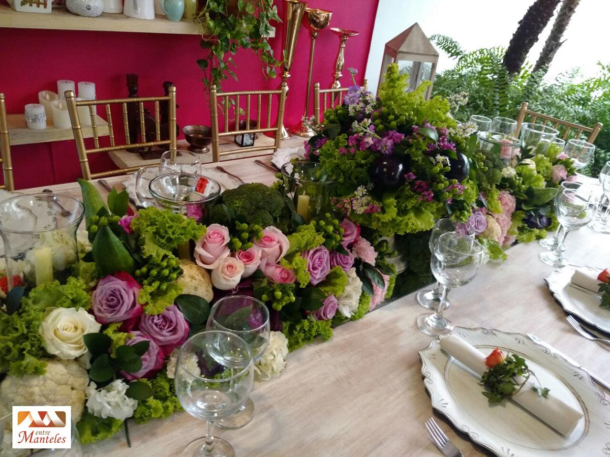 Tendencias decoraci n de bodas centros de mesa con frutas - Tendencias y decoracion ...